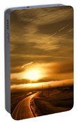 Golden Sunsets Portable Battery Charger