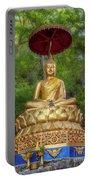 Golden Thai Buddha Portable Battery Charger