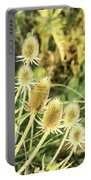 Golden Thistles Sextet Portable Battery Charger