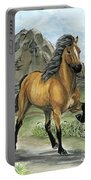 Golden Tolt Icelandic Horse Portable Battery Charger