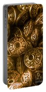 Golden Ufos From Egyptology  Portable Battery Charger