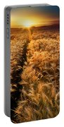 Golden Wheat Dreamscape Portable Battery Charger