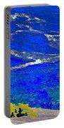 Golden Yarrow Rock Sea Point Lobos Portable Battery Charger