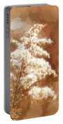 Goldenrod Plant In Fall Portable Battery Charger