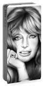 Goldie Hawn Portable Battery Charger