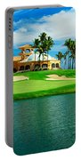 Golf Course At Isla Navadad Resort Portable Battery Charger