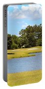 Golf Course Beauty  Portable Battery Charger