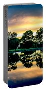 Golf Course Panorama Portable Battery Charger