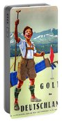 Golf In Deutchland Portable Battery Charger