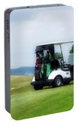 Golfing Golf Cart 03 Portable Battery Charger