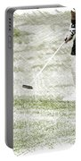 Golfing Putting The Ball 01 Pa Portable Battery Charger