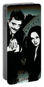Gomez And Morticia Addams Portable Battery Charger