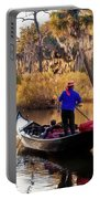 Gondola In City Park Lagoon New Orleans Portable Battery Charger