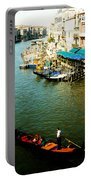 Gondola In Venice Italy Portable Battery Charger