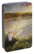 Gone Fishing Portable Battery Charger