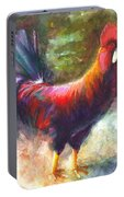 Gonzalez The Rooster Portable Battery Charger
