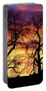 Good Morning Cows Colorful Sunrise Portable Battery Charger