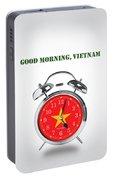 Good Morning, Vietnam - Alternative Movie Poster Portable Battery Charger