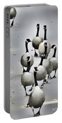 Goose Parade Portable Battery Charger