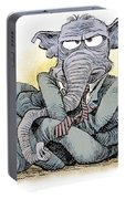 Gop Tied Up In A Knot Portable Battery Charger