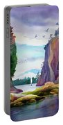 Gorge Entrance View Portable Battery Charger