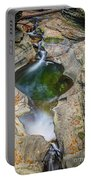 Gorge Trail In Autumn Watkins Glen Portable Battery Charger