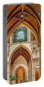Gothic Arches - Holy Name Cathedral - Chicago Portable Battery Charger