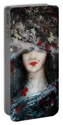 Gothic Beauty Portable Battery Charger