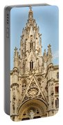 Gothic Cathedral In Havana Portable Battery Charger