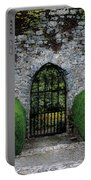 Gothic Entrance Gate, Walled Garden Portable Battery Charger