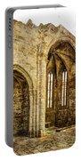 Gothic Temple Ruins - San Domingos - Vintage Version Portable Battery Charger