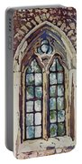 Gothic Window Portable Battery Charger