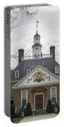 Governors Palace Back Door 01 Portable Battery Charger
