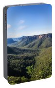 Govetts Leap Lookout Panorama, Australia Portable Battery Charger