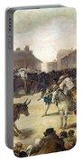 Goya: Bullfight, 1793 Portable Battery Charger