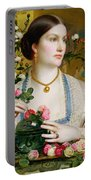 Grace Rose Portable Battery Charger by Anthony Frederick Augustus Sandys
