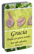 Grace Spanish Portable Battery Charger