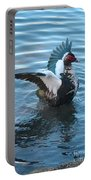 Graceful Muscovy Duck Portable Battery Charger