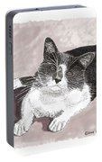Gracie Jacks Cat Now Portable Battery Charger