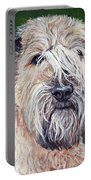 Gracie, Soft Coated Wheaten Terrier Portable Battery Charger