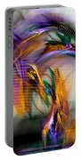 Graffiti - Fractal Art Portable Battery Charger