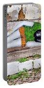 Graffiti Art Lencois Brazil Portable Battery Charger