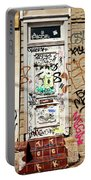 Graffiti Doorway New Orleans Portable Battery Charger