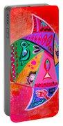 Graffiti Fish Portable Battery Charger