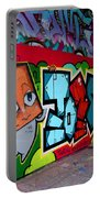 Graffiti London Style Portable Battery Charger