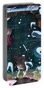 Graffiti Peeling Portable Battery Charger