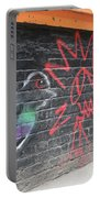Graffiti Pigeon Portable Battery Charger