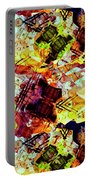 Graffiti Style - Markings On Colors Portable Battery Charger