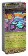 Graffiti Under A Bridge Portable Battery Charger