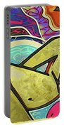 Grafitti Curves Portable Battery Charger